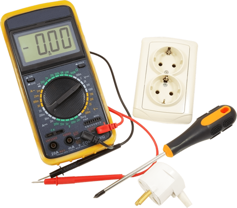 Digital Tester with Screw Driver